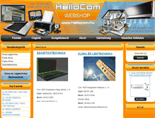 Tablet Preview of hellocom.hu
